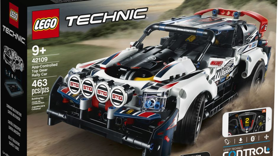 Top Gear Lego Technic Rally Car vous permet de devenir le Stig